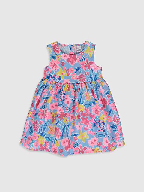 Kız Bebek Poplin Elbise - LC WAIKIKI