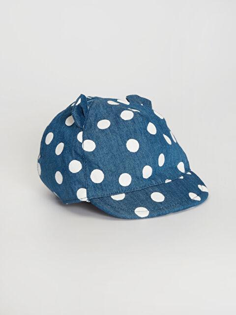 Kız Bebek Puantiyeli Şapka - LC WAIKIKI