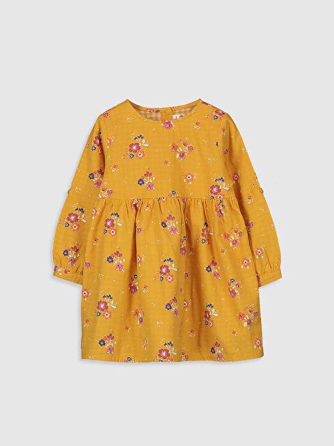 Kız Bebek Desenli Elbise - LC WAIKIKI