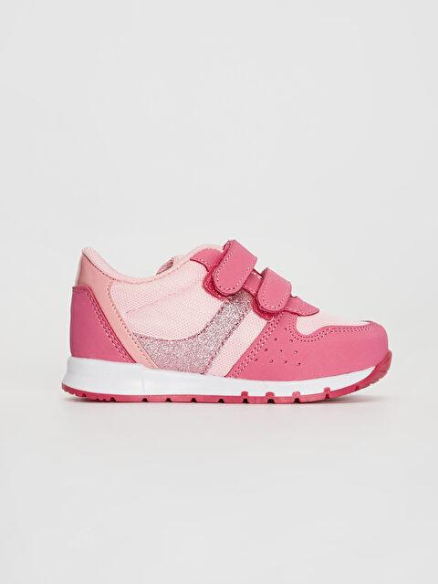 Kız Bebek Cırt Cırtlı Günlük Spor Ayakkabı - LC WAIKIKI