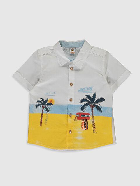 Erkek Bebek Desenli Gömlek - LC WAIKIKI