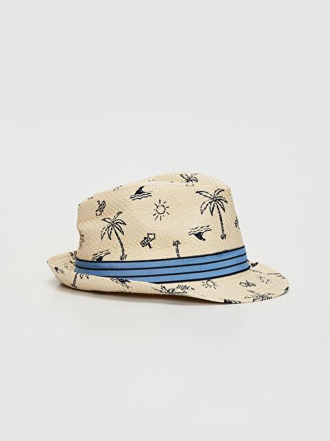 Erkek Bebek Baskılı Hasır Şapka - LC WAIKIKI