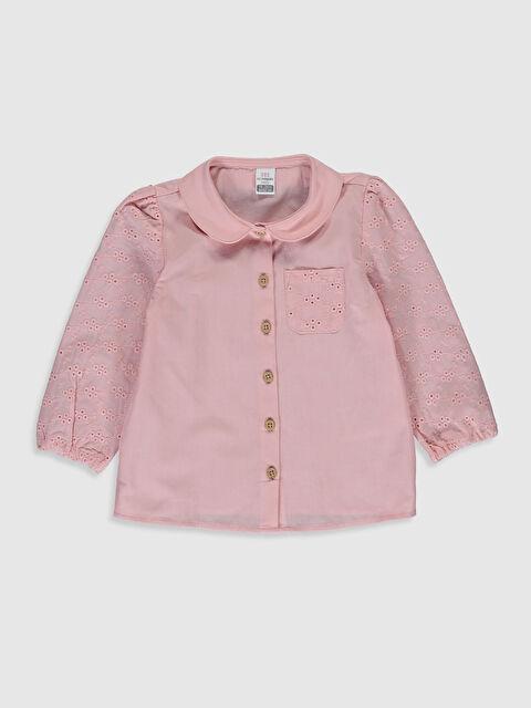 Kız Bebek Poplin Gömlek - LC WAIKIKI