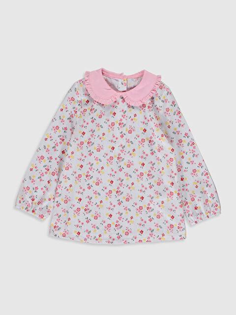 Kız Bebek Çiçek Baskılı Bluz - LC WAIKIKI