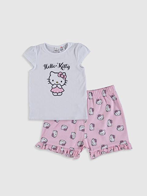 Kız Bebek Hello Kitty Baskılı Pijama Takımı - LC WAIKIKI