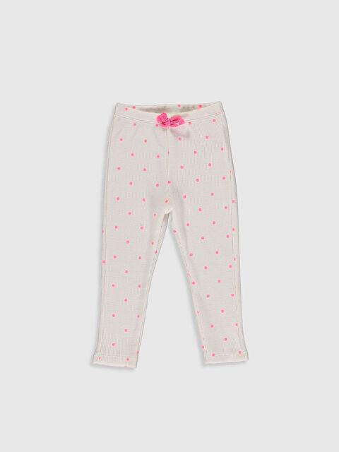 Kız Bebek Puantiyeli Pantolon - LC WAIKIKI