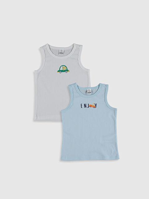 Erkek Bebek Pamuklu Atlet 2'li - LC WAIKIKI