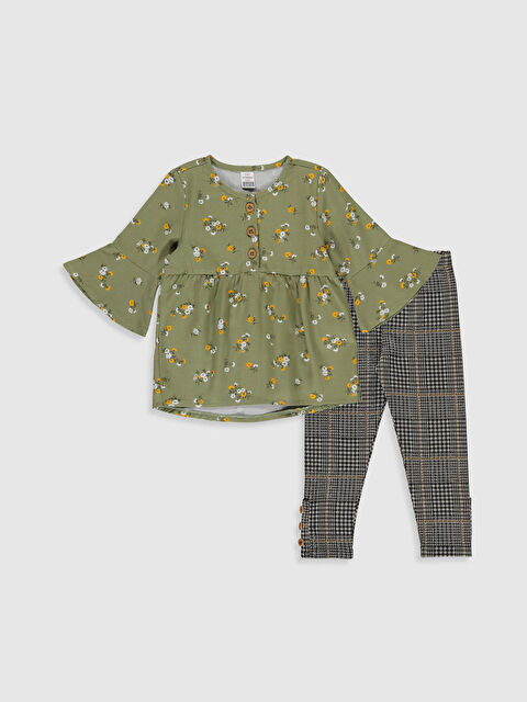 Kız Bebek Bluz ve Pantolon - LC WAIKIKI