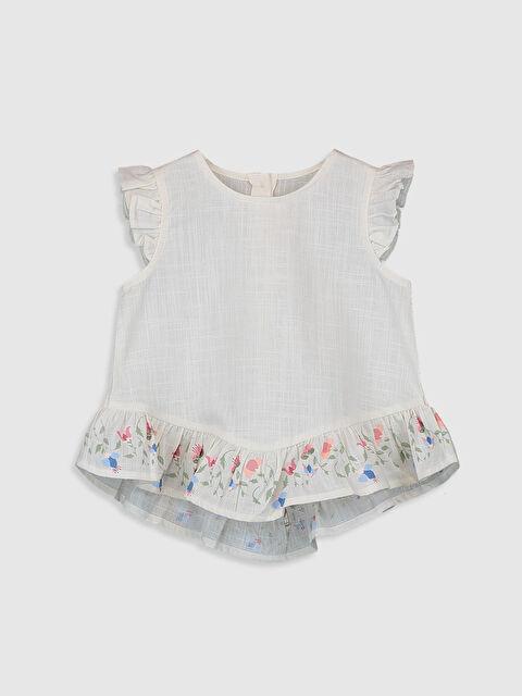 Kız Bebek Keten Bluz - LC WAIKIKI