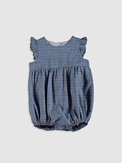 Kız Bebek Çizgili Çıtçıtlı Body - LC WAIKIKI