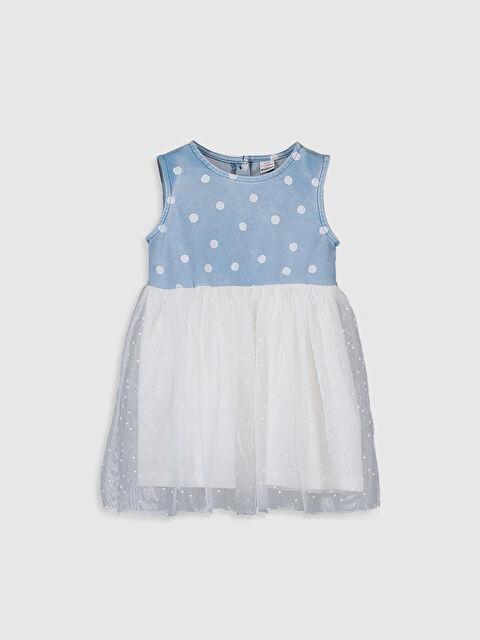 Kız Bebek Puantiyeli Elbise - LC WAIKIKI