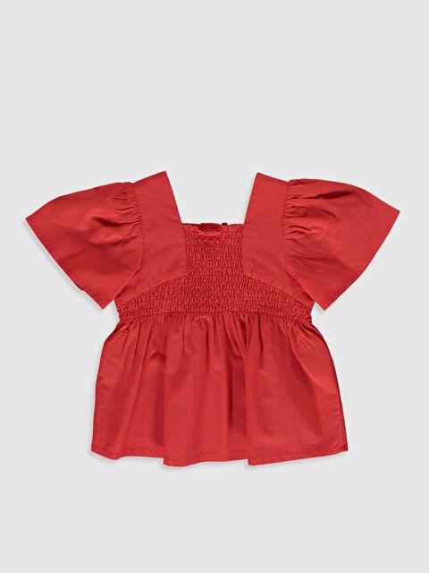 Kız Bebek Pamuklu Basic Bluz - LC WAIKIKI