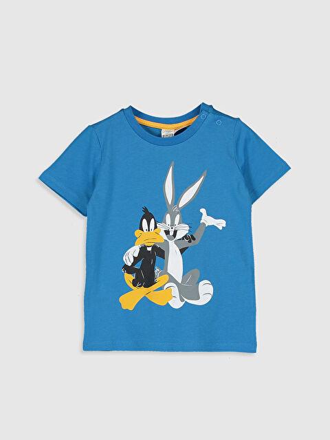 Erkek Bebek Disney Baskılı Pamuklu Tişört  - LC WAIKIKI
