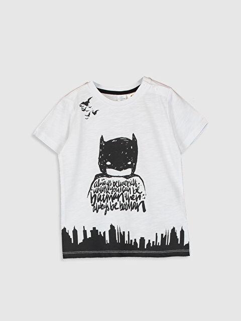 Erkek Bebek Batman Baskılı Tişört - LC WAIKIKI