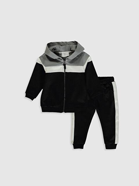 Erkek Bebek Baskılı Sweatshirt ve Eşofman Altı - LC WAIKIKI