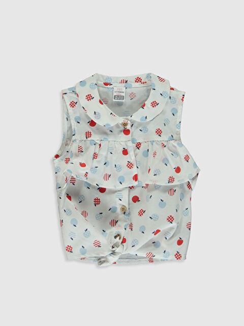 Kız Bebek Baskılı Gömlek - LC WAIKIKI