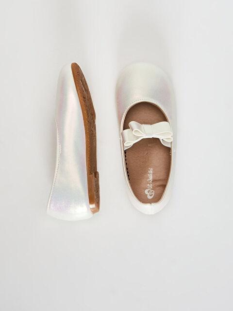 Kız Bebek Fiyonk Detaylı Babet Ayakkabı - LC WAIKIKI
