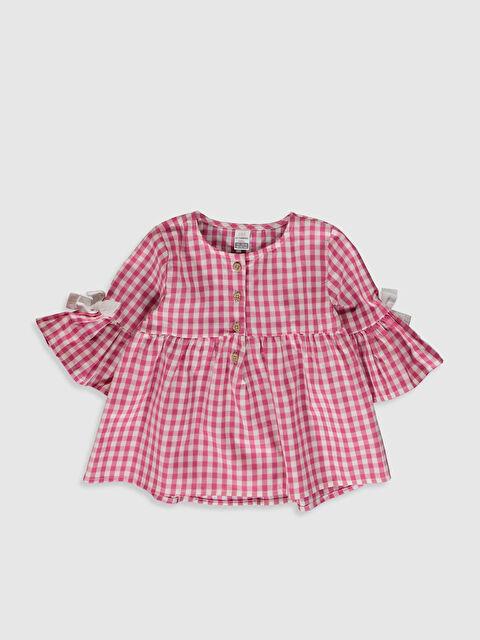 Kız Bebek Ekose Bluz - LC WAIKIKI