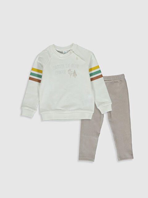 Erkek Bebek Sweatshirt ve Pantolon - LC WAIKIKI