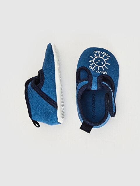 Erkek Bebek Cırt Cırtlı Bez Yürüme Öncesi Ayakkabı - LC WAIKIKI