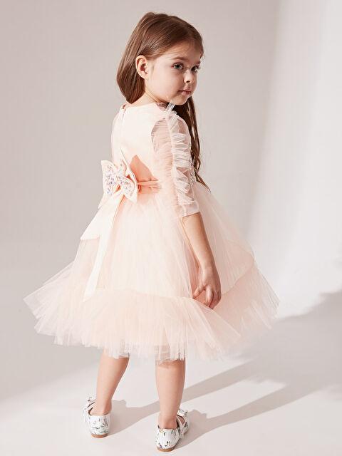 Daisy Girl Kız Bebek Payetli Abiye Elbise - Markalar
