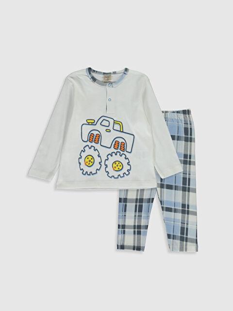 Luggi Baby Erkek Bebek Desenli Pijama Takımı - Markalar