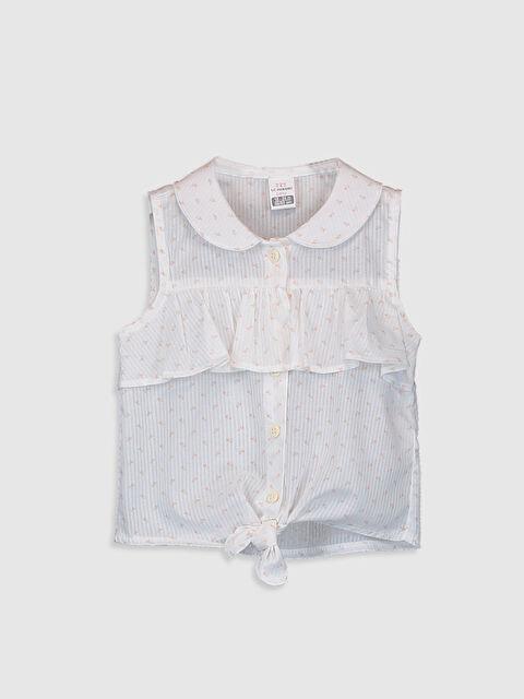 Kız Bebek Bebe Yaka Gömlek - LC WAIKIKI