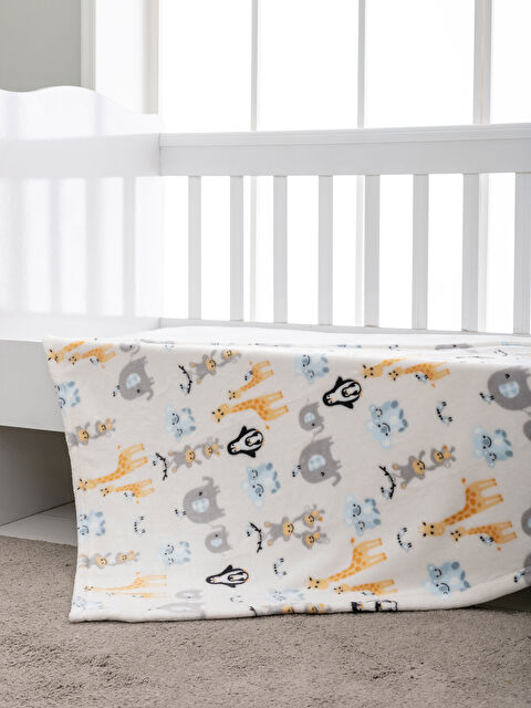 Baskılı Bebek Battaniye - LCW HOME