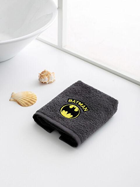 Batman Logolu Çocuk El Havlusu - LCW HOME