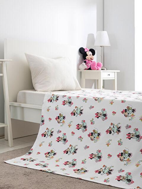 Minnie Mouse Lisanslı Çocuk Pike - LCW HOME