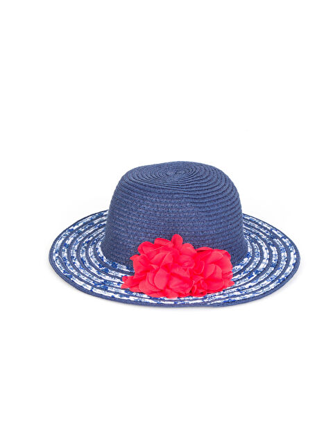 Çiçek Detaylı Hasır Şapka - LC WAIKIKI