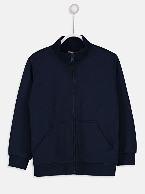 Fermuarlı Sweatshirt - LC WAIKIKI