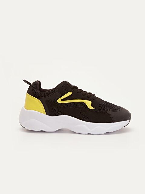 Kadın Kalın Taban Renk Bloklu Spor Ayakkabı - LC WAIKIKI