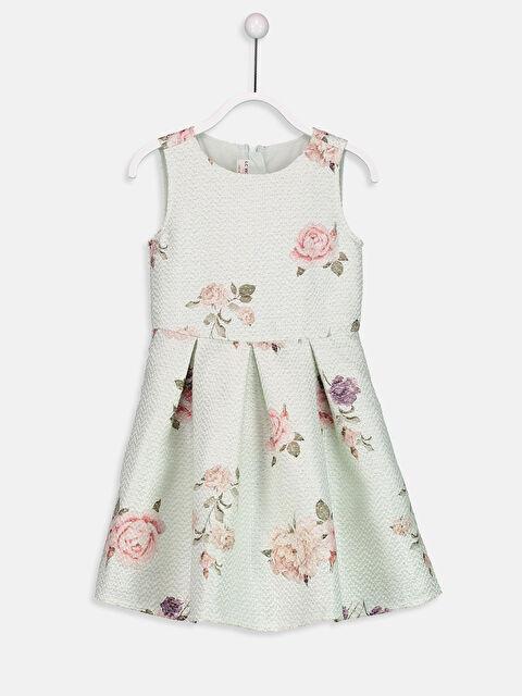 Çiçek Desenli Pamuklu Elbise - LC WAIKIKI