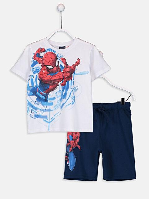 Erkek Çocuk Spiderman Tişört ve Şort - LC WAIKIKI