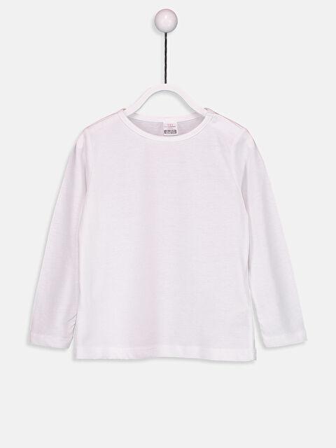 Kız Bebek Basic Pamuklu Tişört - LC WAIKIKI