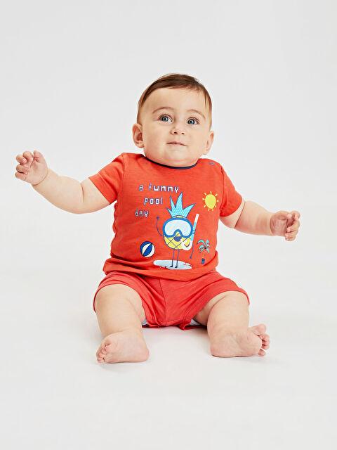 Erkek Bebek Pamuklu Şort 2'li - LC WAIKIKI