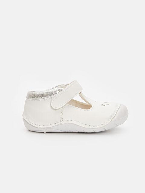 Kız Bebek İlk Adım Cırt Cırtlı Ayakkabı - LC WAIKIKI