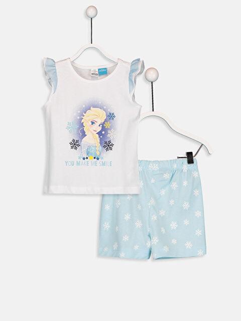 Kız Bebek Elsa Desenli Pijama Takımı - LC WAIKIKI
