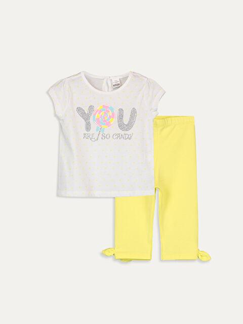 Kız Bebek Tişört ve Tayt 2'li - LC WAIKIKI