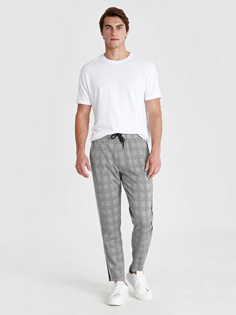 Slim Fit Ekose Pantolon - LC WAIKIKI