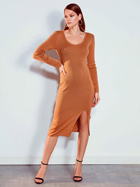 Yırtmaç Detaylı Elbise - LC WAIKIKI