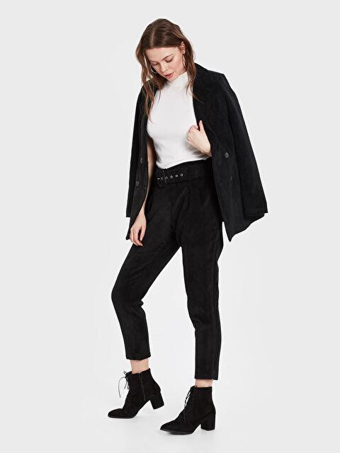 Sateen Kemerli Havuç Pantolon - Markalar