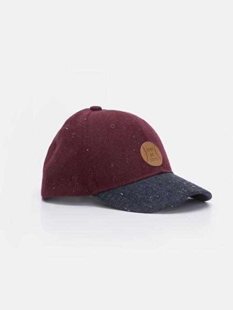 Erkek çocuk Slogan Baskılı Hip Hop Şapka - LC WAIKIKI
