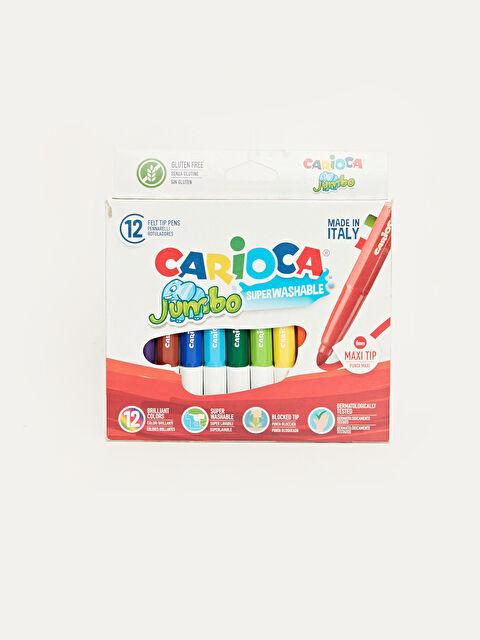 Carioca Yıkanabilir Keçeli Boya Kalemi 12'li - Markalar