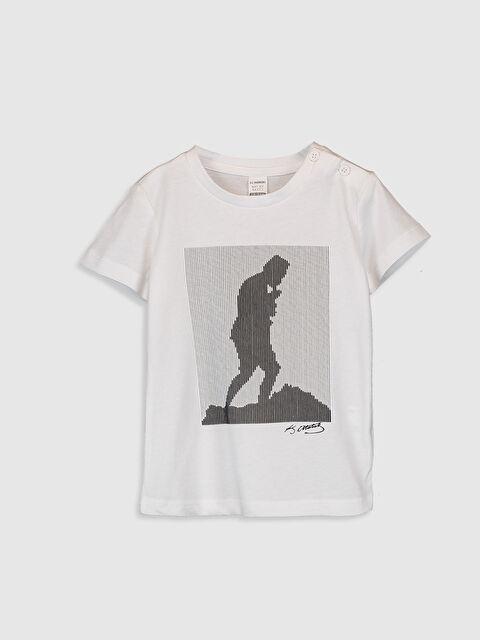 Erkek Bebek Atatürk Baskılı ve İmzalı Tişört - LC WAIKIKI