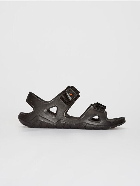 Erkek Çift Bantlı Cırt Cırtlı Sandalet - LC WAIKIKI
