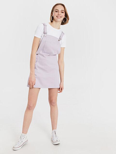 Salopet Mini Jean Elbise - LC WAIKIKI