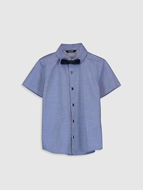 Erkek Çocuk Armürlü Gömlek ve Papyon - LC WAIKIKI