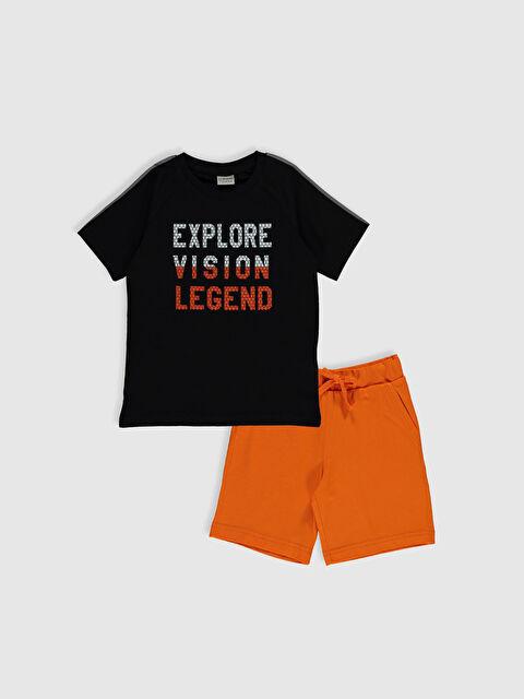 Erkek Çocuk Pamuklu Tişört ve Şort - LC WAIKIKI